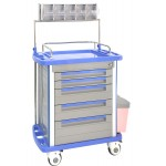 hospital furniture ABS Anesthesia trolley